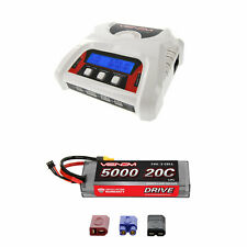 Venom 20C 2S 5000mAh 7.4V LiPo Battery with 2-4 Cell Balance Charger Combo