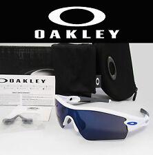 Brand New OAKLEY Radar Path Polished White / Ice Iridium Sunglasses 09-766