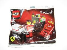 LEGO 30196 Ferrari F1 Pit Crew Shell V Power Exclusive EU Edition New sealed bag