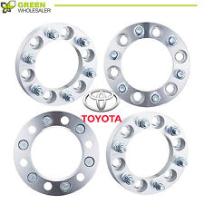 4pcs 6 LUG WHEEL SPACERS ADAPTERS 1'' 6X5.5  FOR TOYOTA TACOMA 4RUNNER TUNDRA