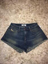 Femme Diesel Cut Off Sexy Denim Shorty Short Jeans W27 Taille UK 8