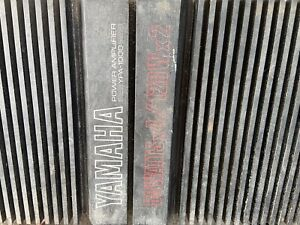 Old School  Vintage Yamaha YPA-1000 Car Audio Sound Quality Amp Very Very LOUD!