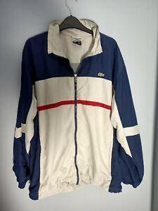 LACOSTE SPORT Men's Vintage Windbreaker Jacket Large