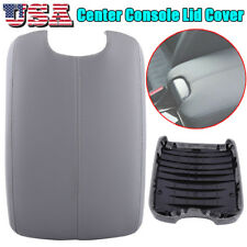 Gray Arm Rest Armrest Center Console Lid Cover Fit 08-12 Honda Accord W/ BASE