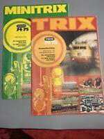Trix & Minitrix 74/75  Model Train Catalogs West Germany N Scale