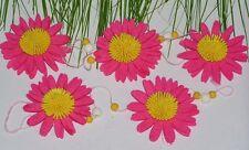 Dekorative Filz Blumen Girlande 100 cm Raumdeko Floristenposten Frühjahr 5491
