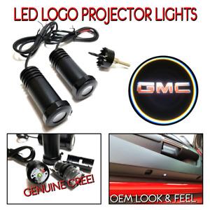 Lumenz LED Courtesy Logo Lights Ghost Shadow for GMC 100546
