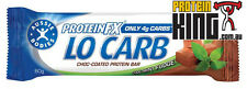 AUSSIE BODIES PROTEIN FX LO CARB BARS 12 x 60G CHOCOLATE MINT bar musashi bsc