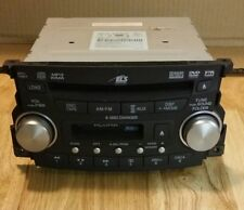 2007 2008 Acura TL 6 Disc CD  MP3 XM Cassette  Player Radio OEM