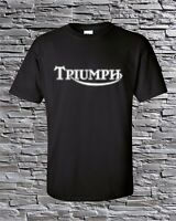 Triumph Motorcycles British Racing T-Shirt Blend S M L XL