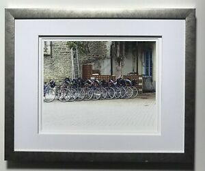 Unsigned Photo Print Of Racing Bicycles