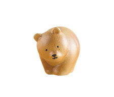 "NEW! Cute! Lisa Larson Small ""BEAR of KUMAMOTO"" Japanese Pottery F/S w/tracking"