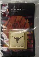 NCAA 10122 Texas Longhorns Team Logo Branding Plate FanBrand Barbecue Grill
