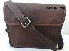 Leather Messenger Computer Distressed Mobile Satchel Briefcase Laptop Tablet Bag