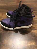 Jordan 1 Mid Sneaker Dark Concord (Purple) Black - 640734-051 Size 13C