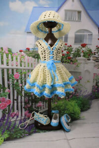 "Senydolls  OUTFIT+shoes  FOR DOLLS 13"" for  Effner Little Darling Paola Reina"