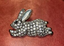 Signed Weiss Easter Bunny / Rabbit Brooch Pin