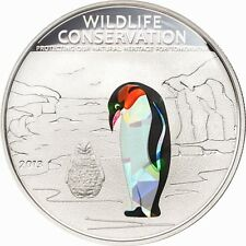 2013 Pinguin,  Cook Island, PENGUIN, PRISM COIN,  manchot, Wildlife