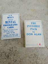 Original The Invisible Pack By Don Alan / Hull Mental Vintage Magic Card Trick