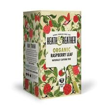 💚 Heath & Heather Organique Framboise Feuille Infusion 20 bags