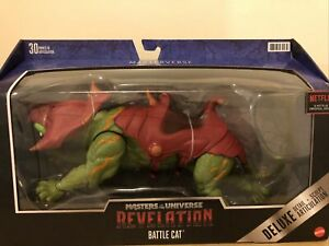 Masters of the Universe Masterverse Revelation BattleCat Deluxe In Hand
