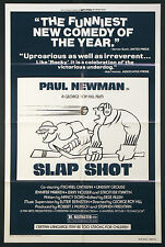 SLAP SHOT SLAPSHOT PAUL NEWMAN ICE HOCKEY CLASSIC 1977 1-SHEET STYLE B
