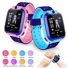 Kids Smart Watch Locator Tracker for 3-12 Years Old Boys Girls Call Chat Camera