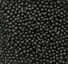Black 4mm Edible Sugar Pearl Balls/Dragees - 50g