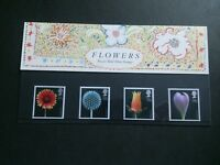 gb stamps presentation pack 178 FLOWERS 1987,