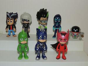 Pj Masks Lot Figures Cat Boy Gecko Owelette Luna Girl Night Ninja PJ Robot