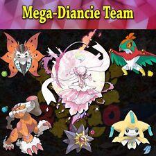 Ultra Pokemon Sun and Moon Mega-Diancie Team