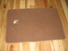 CHICKPEA CHICK PEA BABY BLANKET BROWN SHERPA 3D MONKEY