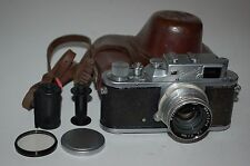 Zorki-3M Vintage Soviet Rangefinder Camera. Jupiter-8 Lens. 5578124. UK Sale
