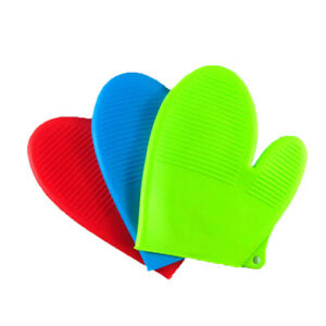 JR silicone Oven Mitt Gloves in Range of options, Quality & Value (UK  SELLER)