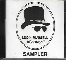 LEON RUSSELL RECORDS SAMPLER promo only cdr with unreleased tracks