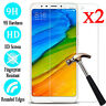 2pcs Real Screen Protector Tempered Glass Film For Xiaomi Redmi Note 7 5 4 6 Pro