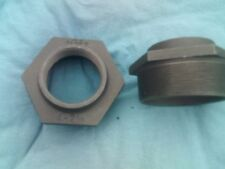 4 inch bsp by 2 1/2 inch bsp black malleable reducing bush 2 off made by gf