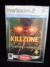 Killzone nuevo y precintado edición platinum playstation 2