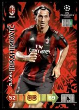 Panini Adrenalyn XL UEFA Champions League 2010/2011 AC Milan Zlatan Ibrahimovic
