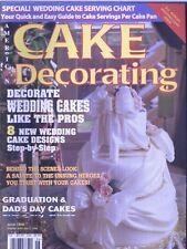Magazine 061 American Cake Decoratig Sugarcraft Recipes Back Issue May-June 1998