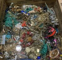 10lbs  Grab Bag Jewelry - Vintage & Modern Crafts Harvesting Repair Wear MFR