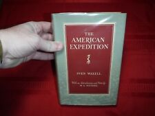 The American Expedition- Sven Waxell, 1952, 1st English Language Edition, Maps