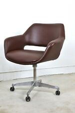 Framac chair Mid century  winged swivel retro Designer Eames Saarinen RESTORED