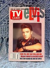 """NOS ELVIS AUGUST 17 - 23, 2002 TV GUIDE 50s 3D PICTURE """"ELVIS FOREVER!"""" (1 OF 3)"""