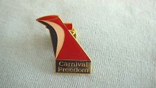 CARNIVAL CRUISE LINES FUN SHIP FREEDOM platinum past  guest VIP lapel pin