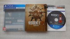 Resident EVIL 7 rischio biologico PS4 STEELBOOK EDITION PER SONY PLAYSTATION 4.