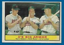 1961 Topps A's BIG ARMOR Card #119 Hank Bauer NM+