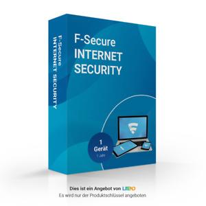 F-Secure Internet Security 2019   1 Gerät   1 Jahr