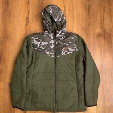 O'Neill Men's Camo Snowboard/Ski Full Zip Transit Jacket Coat Medium M