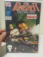 The Punisher The Final Days #58 1992 Marvel